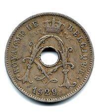BELGIUM BELGIQUE 10 Centes 1929 Circulated COIN. RARE