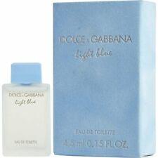 NEW Dolce & Gabbana Light Blue Eau de Toilette Splash Sample 4.5ml / 0.15oz