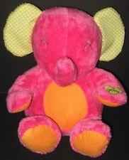 Carters Pink Orange Plush Elephant Musical Motion Singing Twinkle Little Star