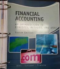 Financial Accounting Intro to Concepts . . Weil 2014 Custom Binder Edition UVA