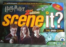 Harry Potter Scene It DVD trivia board game - 2nd edition - Mattel - movie clips