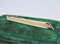 Vintage Art Deco Sterling Silver tie clip / slide Peaky Blinders #Y428