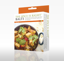 Balti Curry Kit, Makes up to 8 portions. Restaurant Style Curry. Easy to Cook