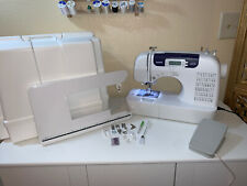 Brother CS6000I Computerized Sewing Machine Wide Table Hard Case Accessories EUC