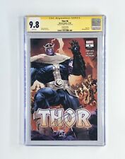 THOR #6 CGC 9.8 Signed By DONNY CATES 2ND PRINTING/ THANOS 2020