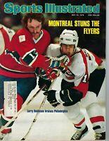 1976 Sports Illustrated magazine hockey Montreal Canadiens Philadelphia Flyers