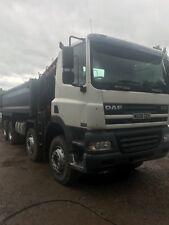 DAF CF85 8x4 Grab Tipper Lorry 2006