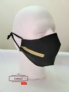 Reflective face mask.  Adjustable.  Nose wire fast shipp