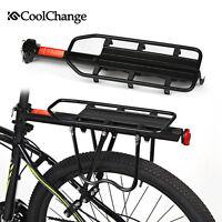 CoolChange Bike Rear Rack Luggage Carrier Holder Bicycle Seat Post Cargo Racks