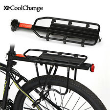 CoolChange Bike Rear Rack Luggage Carrier Holder Bicycle Seat Post Cargo Racks