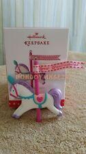 Hallmark 2016 Great Granddaughter Horse Carousel Christmas Ornament