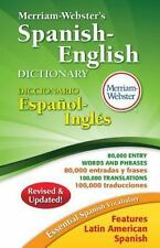 MERRIAM-WEBSTER'S SPANISH-ENGLISH DICTIONARY - MERRIAM-WEBSTER (COR) - NEW BOOK