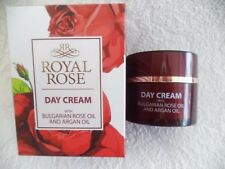 ROYAL ROSE, DAY CREAM with Bulgarian rose oil and argan oil 50 ml/1,68