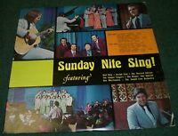 Sunday Nite Sing! Neal Doty Joseph Linn~Christian Chapel Gospel Choir~FAST SHIP!