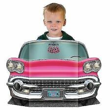 Beistle 57984 Pink Convertible Photo Prop Pack of 6