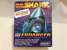 SEGA SATURN GAME SHARK INTERACT CHEAT CODES CHEATING ON GAMES GREAT CONDITION