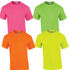 NEON BASIC T-SHIRTS / PARTY -DISCO - JUNGGESELLENABSCHIED - TECHNO - EINFARBIG