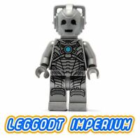 LEGO Minifigure - Cyberman - Doctor Who minifig dim014 RARE! FREE POST