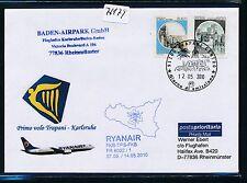 76179) Ryanair FF Trapani Italien - Karlsruhe 14.5.2010, SoU