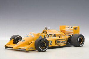 AUTOart 88727 - 1/18 Lotus 99T Honda F1 Giapponese Gp 1987 Senna #12 - Nuovo
