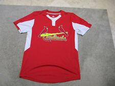 Majestic St Louis Cardinals Baseball Jersey Adult Medium Red MLB Cool Base Mens