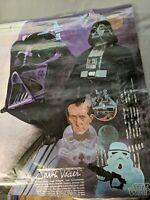 Original Darth Vader Poster Star Wars Burger King Coca-Cola 1977
