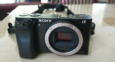 Sony Alpha A6000 Digital Camera Body Only  Black