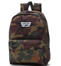 20f588eddfe5f Vans Off The Wall Old Skool Backpack Camouflage Army Skateboard Book Bag NWT