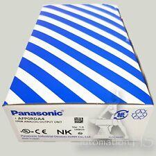 New Panasonic Fp0R analog output unit Afp0Rda4 free shipping