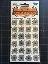 24 Mini DECALS HARDLEY DANGEROUS VINYL Realistic  Illusions Nick Lee Designs