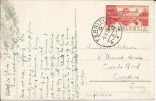 1938 SVIZZERA MONTREUX DENTS du Midi TERRITET (Sartori GINEVRA) cartolina