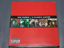 5 Classic Albums by Rob Zombie 5CD Box Set