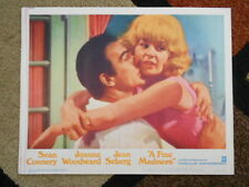A FINE MADNESS Vintage Lobby Card #6 1966 Warners Sean Connery Joanne Woodward