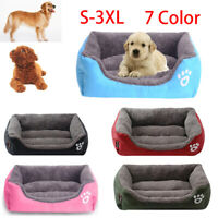 Bed Pet for Large Small Dog Cat Cushion House Warm Kennel Blanket Washable Soft