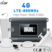 Mobile signal booster 4G network amplifier 800MHz high gain 85dB large coverage