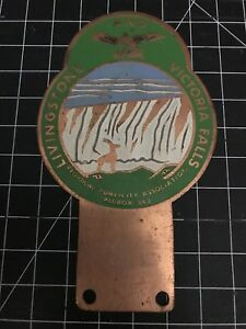 Livingstone And Victoria Falls Car Badge