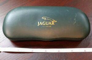 Jaguar Hard Clamshell / Felt Interior Eyeglasses/Sunglasses Storage Case