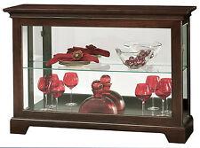 Howard Miller 680-596 (680596) Underhill III Curio Console Cabinet - Espresso