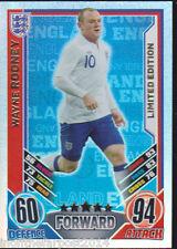 Match Attax 2012 Eurostars Wayne Rooney Inglaterra Edición Limitada