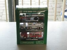 2018 MINI HESS COLLECTION ,RARE , SOLD  OUT, AINT NO MORE LEFT , 3 MINI TRUCKS