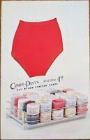 Underwear/Nylon Underpants 1960s Chrome Advertising Postcard: 'Comfo-Pants'