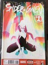 Spider-Gwen #1 (2015) Spider-Verse Marvel Spider-Man