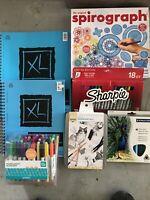 art supplies lot