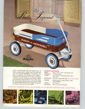 1955 PAPER AD Radio Line Imperial Coaster Wagon Sidewalk Scooter