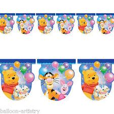 2.7 m DISNEY Winnie The Pooh Bambini Festa di Compleanno Bandiera Banner Decorazione