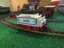 Lgb # 2317/6 white powered tender. New w/ box. Circus? No Returns, As-Is.