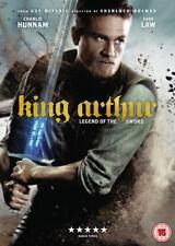 King Arthur Legend of The Sword DVD 2017 Action Adventure Region 2