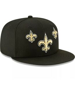 New Orleans Saints Cap New Era NFL Draft Stage Official Team 9FIFTY Fitted 7 3/8