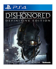 DISHONORED Definitive Edition (18) 2013 Bethedsa Sony Playstation 4 Game