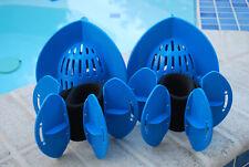 Aqualogix Total Body Bundle - Max Resistance Aquatic Bells & Max Resistance Fins